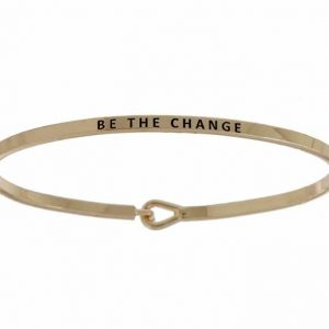 Be The Change: 16mm Bracelet - Affirmation Jewelry
