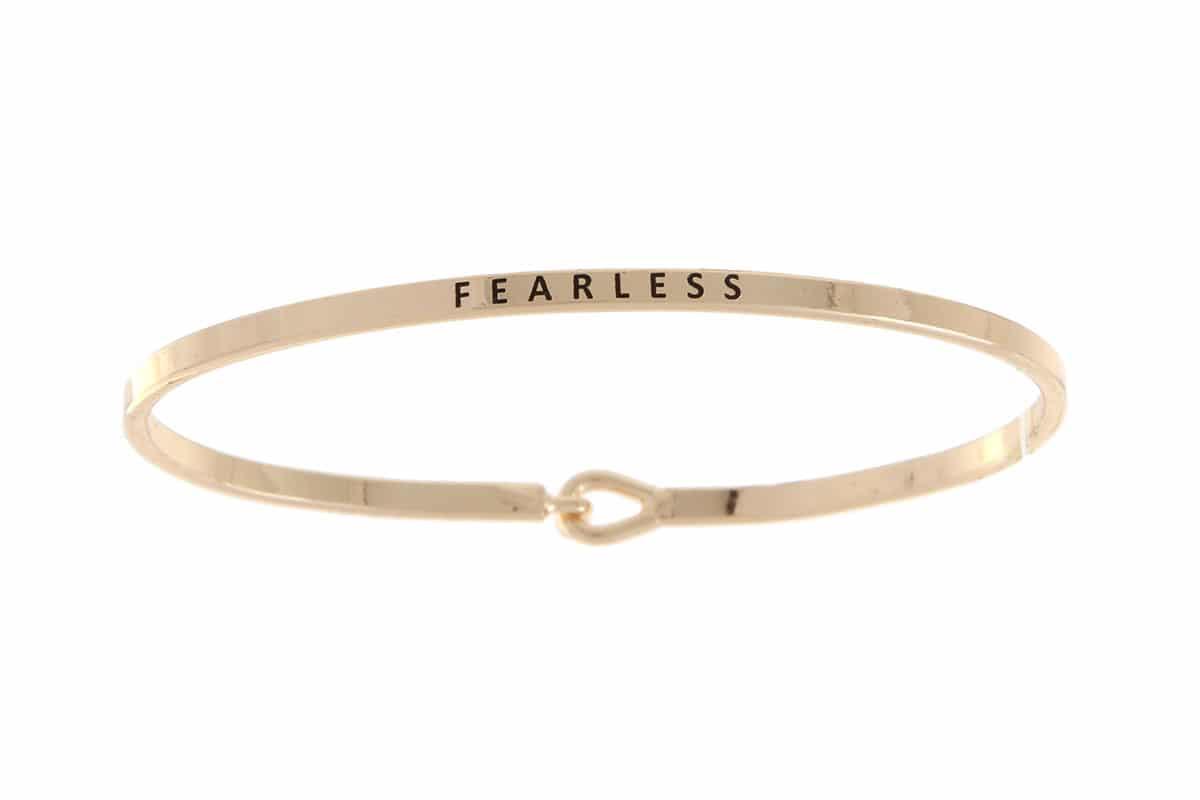 Fearless: 16mm Bracelet - Affirmation Jewelry