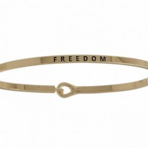 Freedom: 16mm Bracelet - Affirmation Jewelry