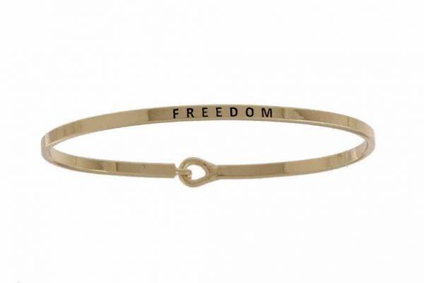 Freedom: 16mm Bracelet - Affirmation Jewelry