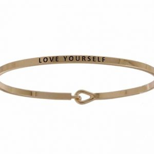 Love Yourself - 16mm Bracelet - Affirmation Jewelry