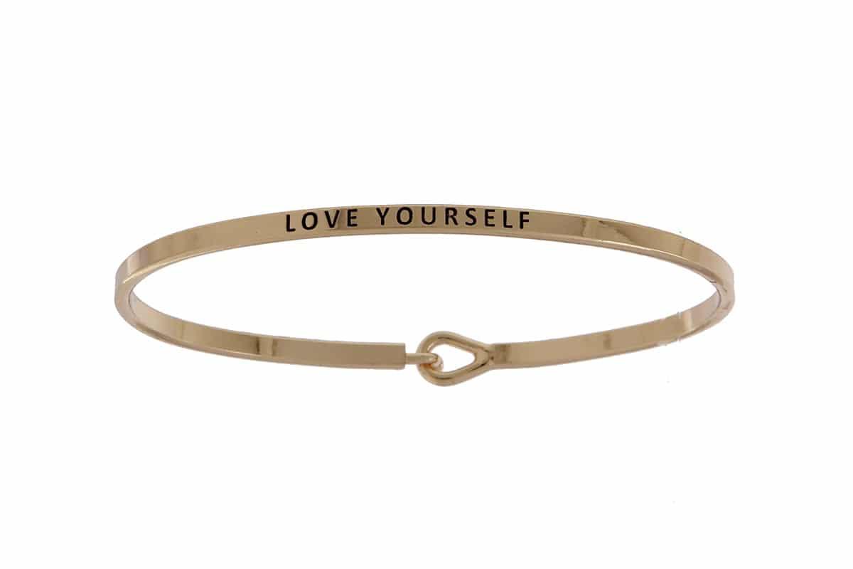 Love Yourself - 16mm Bracelet - Affirmation Jewelry
