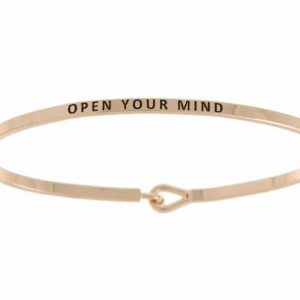 Open Your Mind: 16mm Bracelet - Affirmation Jewelry