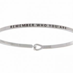 Remember Who You Are: 16mm Bracelet - Affirmation Jewelry