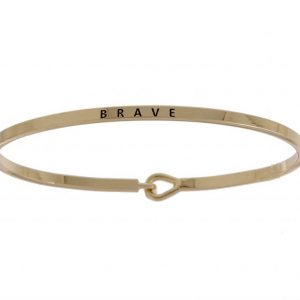 Brave: 16mm Bracelet - Affirmation Jewelry