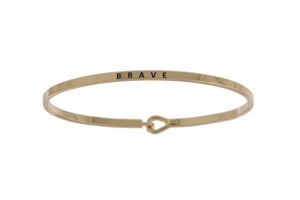 Brave: 16mm Bracelet - Affirmation Jewelry