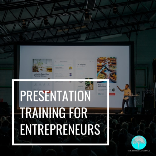 Entrepreneur Presentation Training
