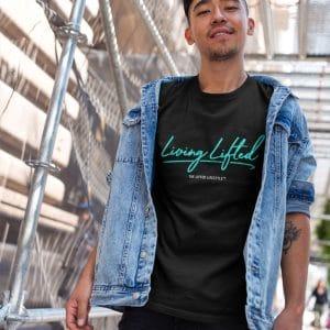 asian man wearing a tshirt template while on a bridge a17798jpg 800px