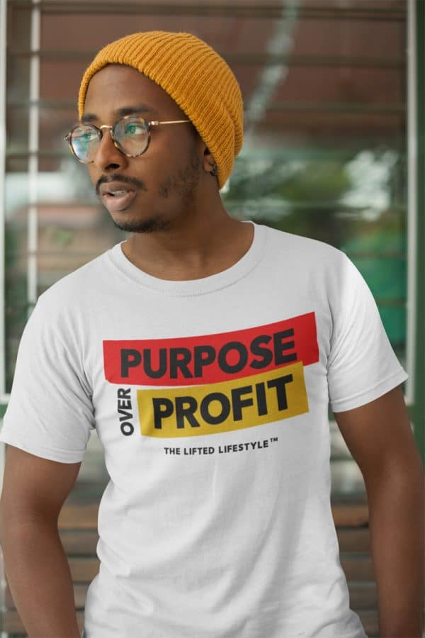 t shirt mockup of a man with trendy glasses and a winter hat