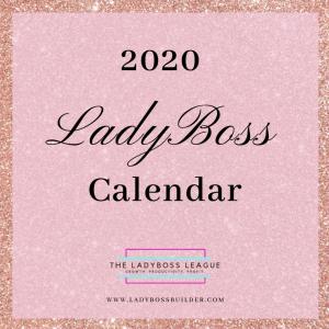 2020 LadyBoss Calendar
